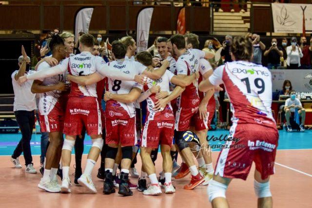 Les Dragons battent Montpellier 3 a 0 !